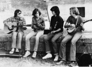 Christian Séguret-Danny Weiss- Kenny Kosek-Tony Trischka-Sainte Croix aux Mines-Juillet 1979