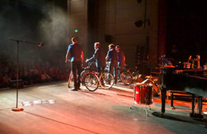 Christian Séguret-Dick Annegarn-Christophe Cravero-Olivier Koudouno-Velo Tour-Octobre 2015