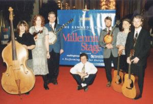 Christian Séguret-ETSU Band Kennedy Center 1999- Becky Buller-Beth Lawrence-J.D. Mathes-Jeremy Fritts-Martha Scanlan-Thomas Sneed-