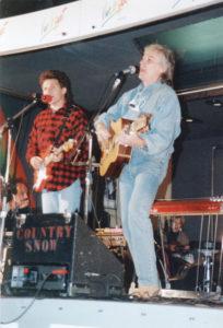 Christian Séguret-Hugues Aufray-Flaine 1993
