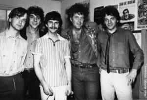Peter Rowan's band-1982-Christian Séguret-Olivier Andrès-Philippe Bourgeois-Jean Darbois